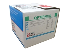 Optiphos 20kg is packaged in a completely edible box for immediate use