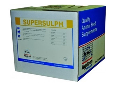 Powerful sulphur and salt protection, Supersulph prevents toxic cyanide poisoning