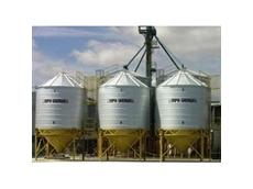 Ahrens Corrosion Resistant Stainless Steel Fertiliser Silos