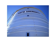 Ahrens Easily Transportable Grain Silos