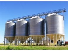 Ahrens Large 600 Tonne Capacity Grain Silos