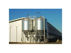 Ahrens Low Level Cone Silos for Seeds and Feeding