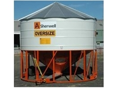 Gravity fed field bin