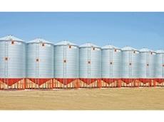 Grain silo's