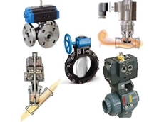 Control valves for fluid and mass flow and process control applications