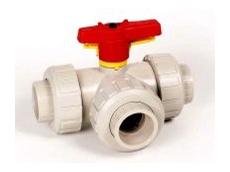 S4 three-way ball valve.