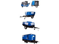 A.P.S' petrol and diesel compressors for hire