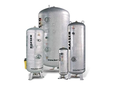 KAESER Galvanised Air Receivers from Air Powered Services