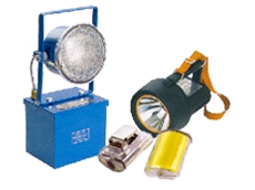 Wolf intrinsically safe portable lighting