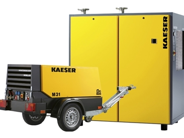 KAESER Compressors, nearly partnered with Air Powered Services