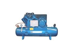 Three phase electric air compressors