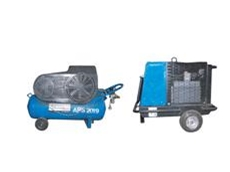Petrol air compressors for hire from Air Powered Services