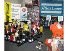 Air Powered Services' new showroom