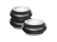 Compact Firestone air springs offer smooth actuation for solar trackers