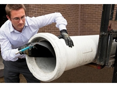 James Maslin demonstrates installation of a permanent anti-pollution Pollu-Plug