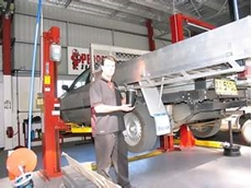 Tradesmen turn on to air suspension for safety and comfort
