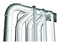 Easy Installation Modular Steel Ducting from Airtight Solutions