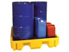 100 series 2 and 4 drum spill containers from Alemite Lubrequip