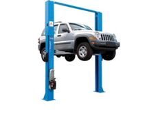 2 Post 4.2 tonne Hydraulic Hoists from Alemlube
