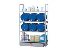 77440 drum storage and spill containment racks available from Alemlube