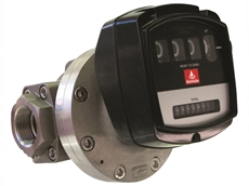 "AM-025 – 1"" Mechanical Oval Gear Flow Meter by Alemlube"