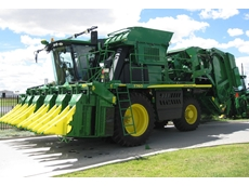 Alemlube installs Beka-Max lube system on John Deere 7760 cotton picker