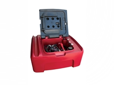 Alemlube 400L diesel storage and dispensing kit