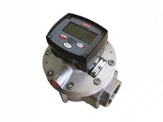 Alemlube oval gear flow meter