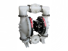 Alemlube underground coal mine double diaphragm pump