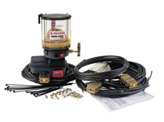 Grease and Oil Lubrication Systems from Alemlube