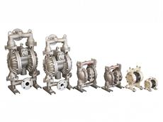 "NDP-5FPT  1/4"" Polypropylene Diaphragm Pump by Alemlube"