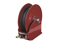 The 8080-G Alemite Lubrequip heavy duty air, water, oil and fuel hose reels
