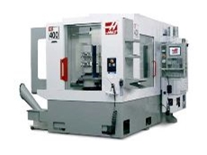 All machines on the Haas stand will be cutting metal.