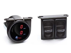 All-Air Suspension's On-Board Controls with Digital Gauges