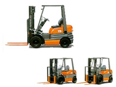 Forklifts for hire from All Lift Forklifts