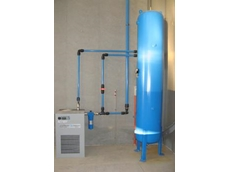 The aluminium compressed air pipe