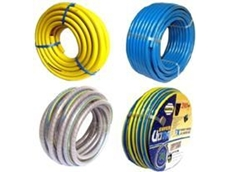 Hose reels, coil hoses and pressure hoses