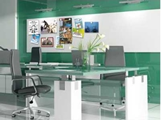 Allplastics adds Dekopin magnetic whiteboards to architectural surfaces range