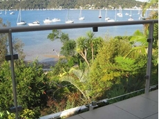 Clear abrasion resistant polycarbonate in a balustrade application