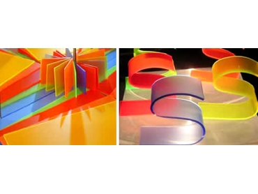 New Perspex Fluorescent Anti-Reflective Acrylic Sheets from