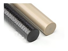 Peek high temperature sheets and rods available from Allplastics Engineering