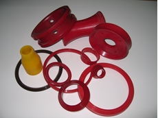 Polyurethane rods, sheets and tubes from Allplastics Engineering