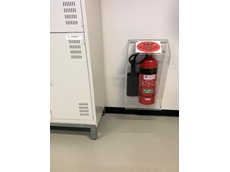 Protect fire extinguishers in warehouses