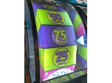 Protective polycarbonate screens for amusement arcades