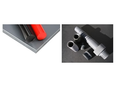 Rigid PVC Sheets, Rods and Tubes from Allplastics Engineering