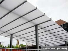 PEP Core Satin Opal Awning