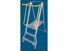 Allweld Industrial Ladders release a safety gate for folding platform ladder range.