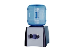Compressor driven bench top water coolers