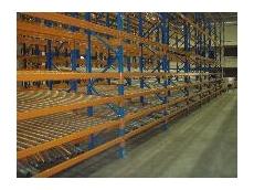 Alpha brand Selectaflow pallet racking