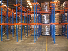 Drive in racking is ideal for use in high density storage areas where space is limited